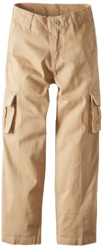 Pants Wes Willy And Boys (Wes & Willy Big Boys' Fixed Cargo Pant, Khaki, X-Large)