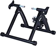 Soozier Indoor Bicycle Bike Trainer Stand Exercise Fan Fly Wind Wheel Folding Turbo