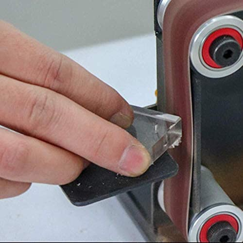 L-YINGZON Saw Blades Micro Belt Sander - Micro Mini Electric Belt Sander DIY Polishing Grinding Machine Fixed Angle Sharpening Blade Bench Machines-Type 1 Cutting Tools