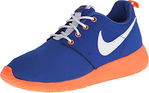 - Nike Kids Roshe One (GS) Game Royal/White/Ttl Orange/Blk Running Shoe 7 Kids US