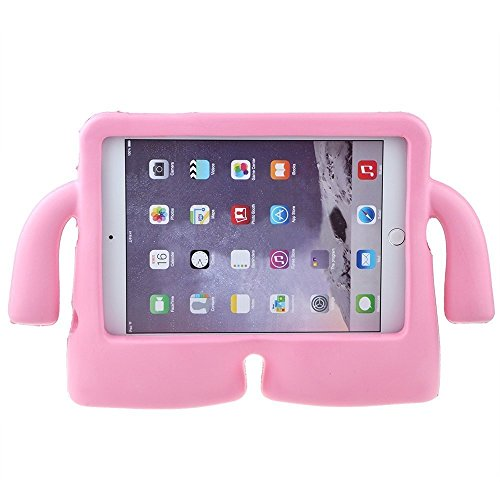 Lioeo iPad Mini Case for Kids Freestanding with Handle Lightweight EVA Foam Case for Apple iPad Mini 4 3 2 1 7.9 inch (Pink) by Lioeo (Image #1)