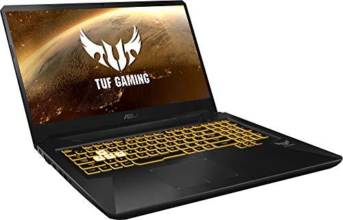 """ASUS TUF Gaming FX705DD-AU017 - Ordenador portátil de 17.3"""" (AMD Ryzen 7 3750H APU, 8 GB RAM, 512 GB SSD, NVIDIA GeForce GTX1050, sin Sistema operativo) Negro - Teclado QWERTY Español 5"""