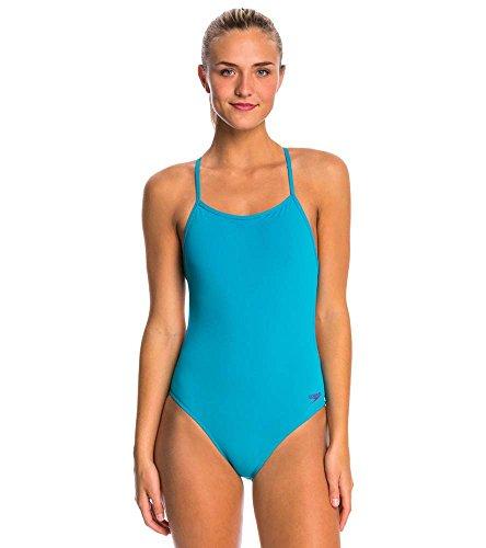 Speedo Women's The One Back Solid - Endurance Lite Blue 26
