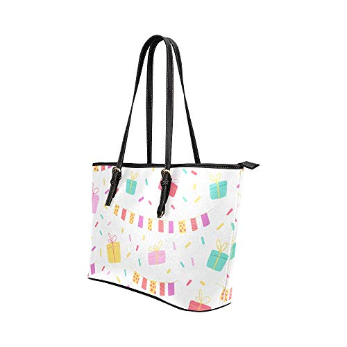 Axelväska för kvinnor tecknad romantisk söt fest tema läder handväskor väska orsaksala handväskor dragkedja axel organiserare för dam flickor kvinnor handväskor väska