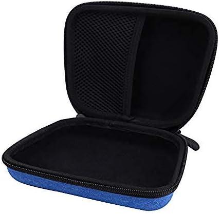 Aenllosi Hard Carrying Case for JBL JR 300BT JR 300 Kids On-Ear Wireless Headphones Blue