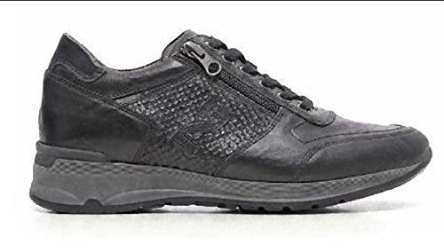 Nero Giardini - Zapatillas de Piel para mujer Negro negro