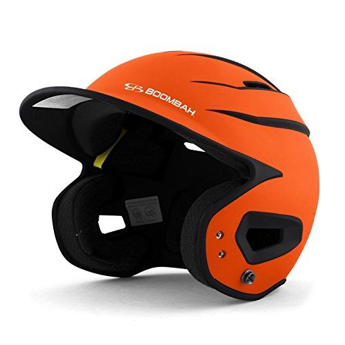 Orange Softball Batting Helmet - 5