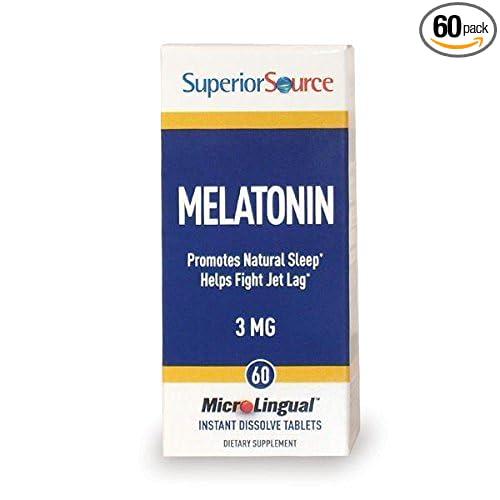 Amazon.com: Melatonin (3mg) with Chamomile 60 Tablets: Health & Personal Care