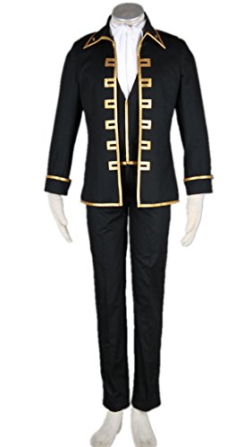 Jump Gintama Cosplay Costume-Shin Sen Gu Mi Captain 5Pcs Set