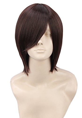 Topcosplay Short Straight Anime Cosplay Wigs Natural Halloween