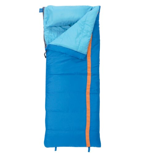 Slumberjack Boys Cub 40 Degree Short Right Hand Zip Sleeping Bag, Outdoor Stuffs