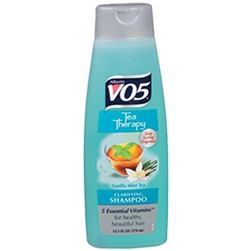 VO5, Tea Therapy, Clarifying Shampoo, Vanilla Mint Tea - 12.5 oz by Dot Foods-High Ridge Bran