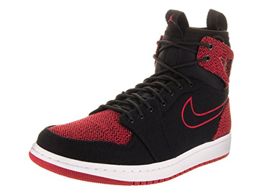 Nike Jordan Men's Air Jordan 1 Retro Ultra High Black/Gym Red/Black/White Basketball Shoe 8 Men US by NIKE