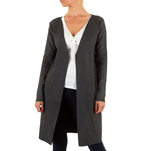 Ital-Design - Cárdigan - para mujer gris