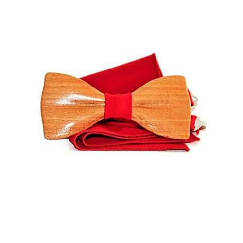 0f0f333eab65 Amazon.com: wooden bow tie, mens bow tie, wedding bow tie, wood bow ...