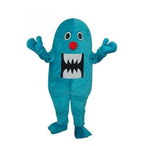 Blue Sea Creature Shark Mascot Costume Adult L Size (Sea Creature Costumes)