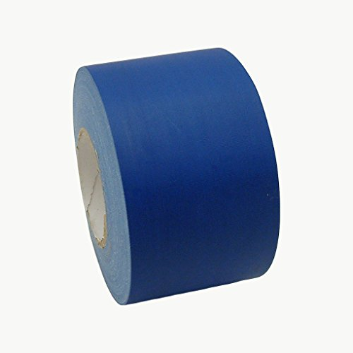 JVCC J90 Polyethylene Coated Cloth Low Gloss Gaffer-Style Duct Tape, 36 lbs/in Tensile Strength, 60 yards Length x 4