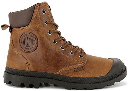 Palladium Unisex Pampa Cuff WP Lux Braun Stiefel Boots Größe 38