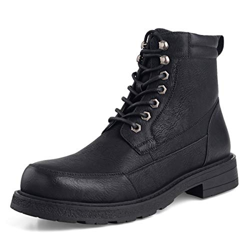 GM GOLAIMAN Men's Combat Boots Lace up Motorcycle Boots