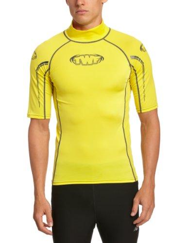 TWF Rash Guard Surf-Shirt gelb Giallo - giallo L