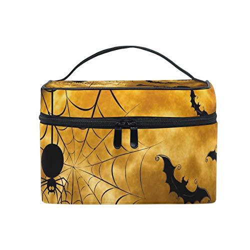 Skeleton Halloween Portable Makeup Cosmetic Bag Storage -