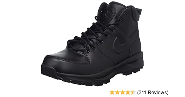 Boot Hiking Men's Nike Leather Manoa RLj45A