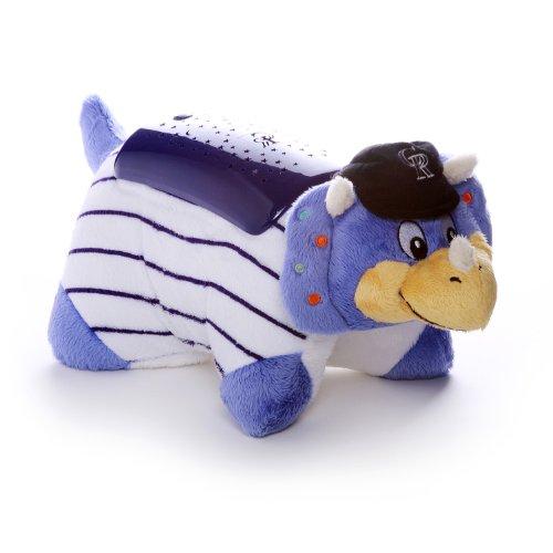 Rockies Plush Colorado (MLB Colorado Rockies Dream Lite Pillow Pet)