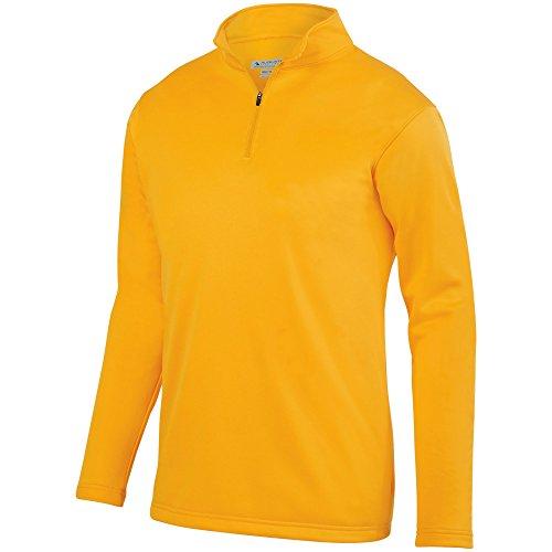 Augusta Sportswear Men's Wicking Fleece Pullover M Gold