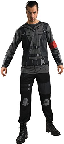 Adult Terminator Salvation John Connor Costume XL 44-46 Black ()