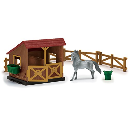 Sunny Days Entertainment Blue Ribbon Champions 1/32 Arabian Horse Twin Stable Toy (Toy Stable Horse)