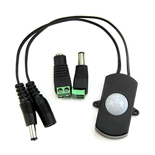 Kang® New LED Strip Automatic Mini DC 5V-24V PIR Body Infrared Motion Sensor Switch 5A