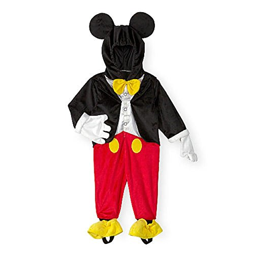 Mickey Mouse Halloween Costume Toddler (Disney Baby / Toddler Little Boys Mickey Mouse Dress Up Halloween Costume (6-9 Months))