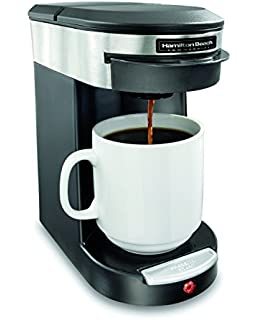 Vonshef Single Serve Coffee Maker 650w One Cup Personal Filter