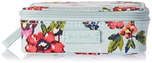 Vera Bradley Iconic Travel Pill Case, Signature Cotton, Water Bouquet