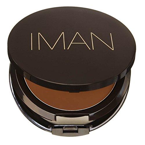 IMAN Second To None Cream To Powder Foundation, Dark Skin, Earth (Iman Cream Powder Foundation)