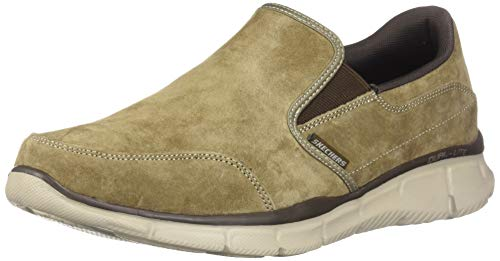 Skechers Mens, Equalizer Mind Game Slip on Shoes Wide Width Brown 10.5 W (On Slip Shoes Skechers)