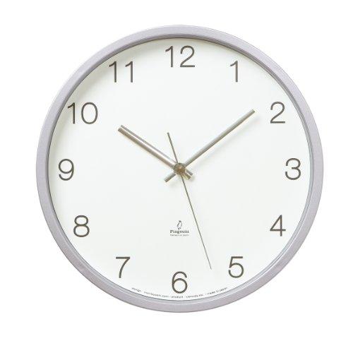 Lemnos Basic clock radio clock white PC06-25W WH