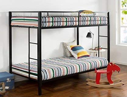 Amazon Com Bunk Beds For Kids Toddler Twin Over Twin Classic Metal