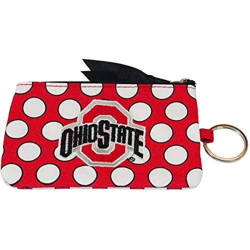 - Jenkins Enterprises Ohio State Buckeyes Keychain Coin Purse