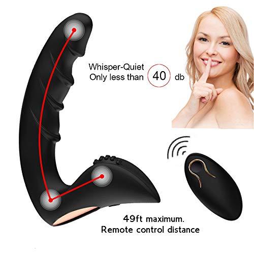 Orlupo-Dual-Motors-Vibrating-Anal-Vibrator-for-Men-with-Remote-Control-Anal-Vibrators-Vibrating-Butt-Plug-Dildo-Prostate-Massager-Stimulator-Adult-Male-Anal-Sex-Toys