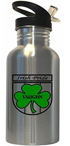 Vaughn - Irish Pride Stainless Steel Water Bottle Straw Top