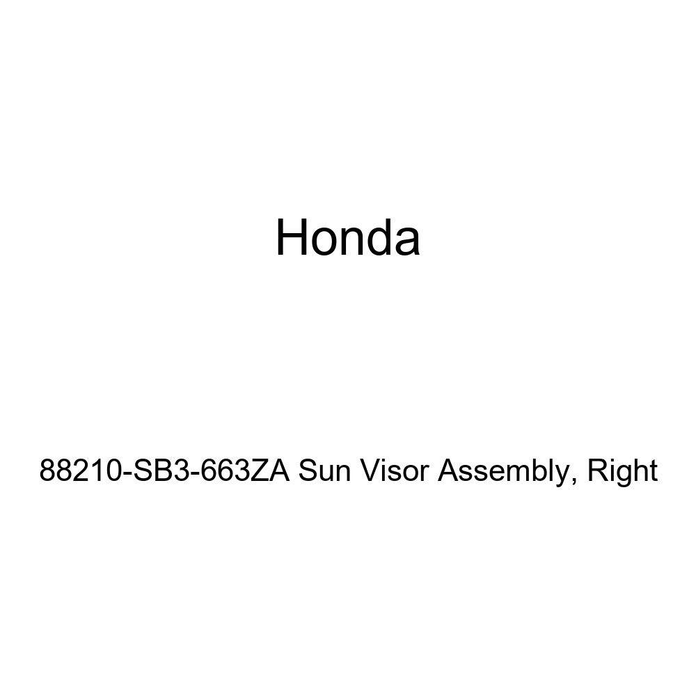 Honda Genuine 88210-SB3-663ZA Sun Visor Assembly Right