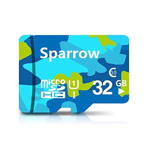 Sparrow 32   GB Class 10 U1 Micro SD HC1 Memory Card Micro SD Cards