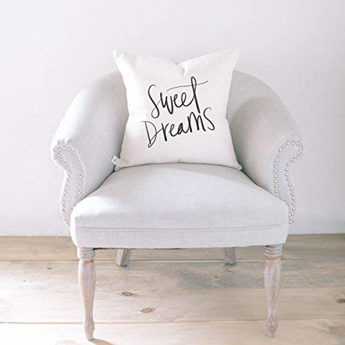 Home Decor Sweet Dreams Wedding Gift Throw Pillow Cushion Cover Engagement Present Throw Pillow Housewarming Gift