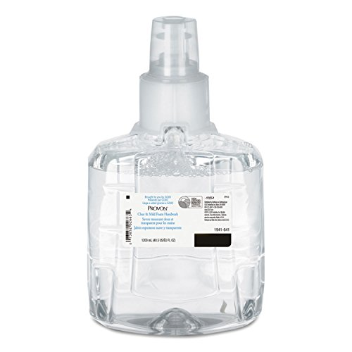 GOJO 1941-02 PROVON Clear and Mild Foam Handwash, 1200 mL