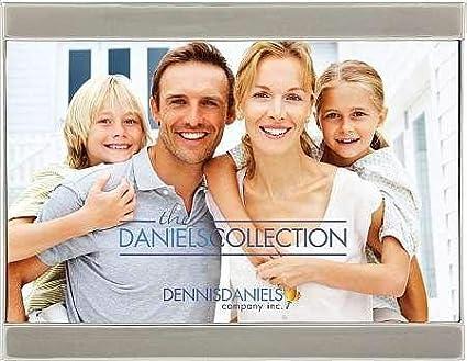 4x6 Slate-Grey Enamel Silver LETTERBOX 6x4 design by Dennis Daniels/®