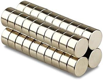 Magnetastico® | 5 piezas imanes de neodimio N52 discos 20x10 mm | Imanes muy fuertes | Neodimio superimán Imán permanente Imán muy potente