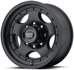 14x7//5x114.3mm, -6mm offset American Racing Custom Wheels AR23 Machined Wheel With Clearcoat
