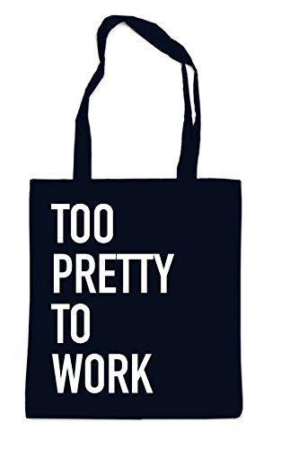 To Pretty To Work Bag Black 5rStRAHca2