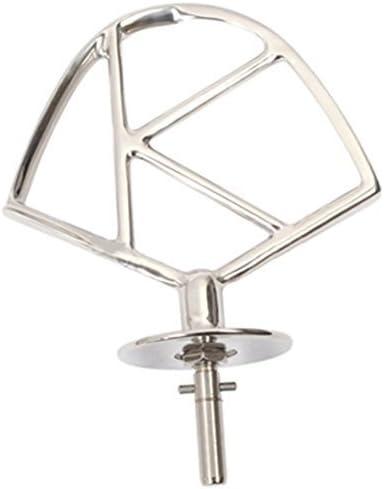 Frusta di ricambio originale a forma di K per robot da cucina Kenwood Chef mod in acciaio inox Kenwood con anello seeger A701/A901